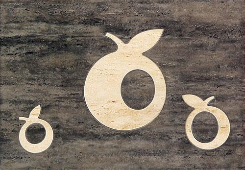 Toscana brąz Apple