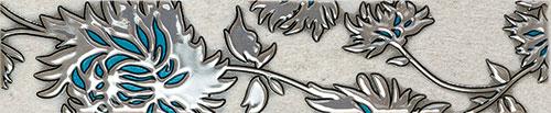 Gris flower turkus